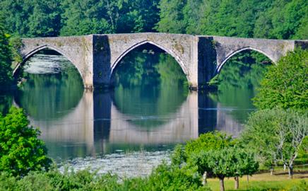 Le pont gothique d'entraygues sur truyère